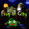 Frog In City