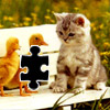 Puzzle Kitten & Ducks